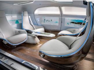 Mercedes car driverless
